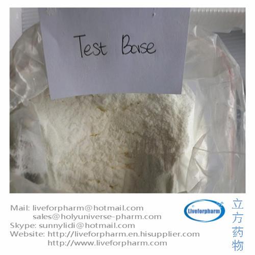 Testosterone Base Testosterone no ester TTE Test Base CAS 58-22-0