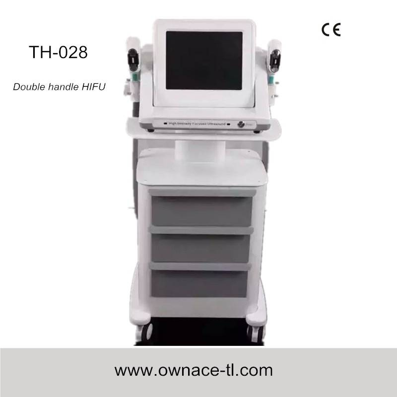 TH-028  2015 hifu, hifu face lift, portable hifu machine/high intensity focused ultrasound ultherapy