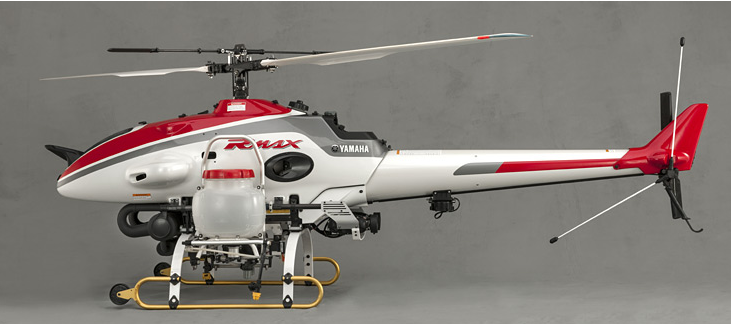 New Yamaha RMax Helicopter