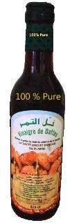 Dates Fuit natural, Pure Vinegar