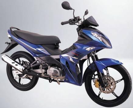 Cub Motorcycle (BS110-62)