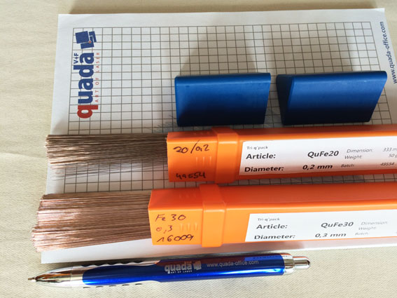 German Laser welding rods/wires (Germany Quada--QF10)