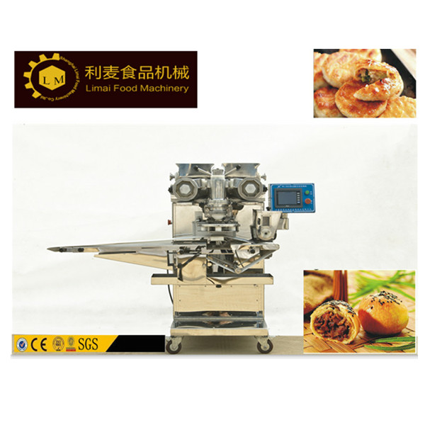 automatic encrusting and forming machine