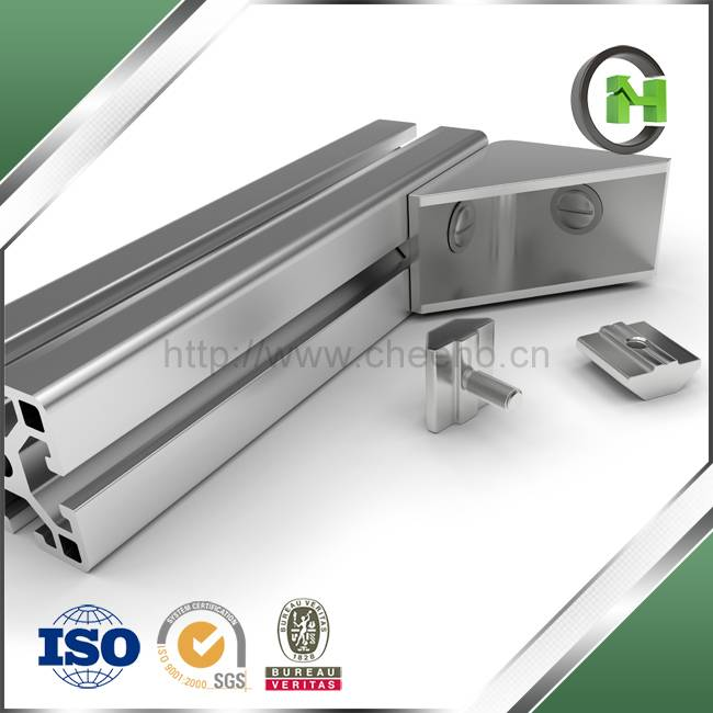 High Cost Effective Photovoltaic Panel Frame Applied Extruded Aluminum Profile