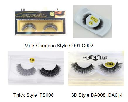 3D Strip Mink Lashes Thick Handmade Articial Eyelashes