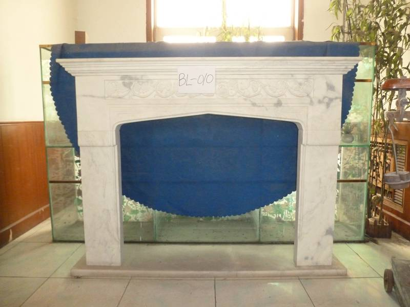 Hand Carved Marble Fireplace Surrounds