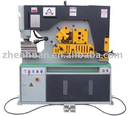 hydraulic combined punching & shearing machine,iron worker,steel worker,hydraulic combined punching