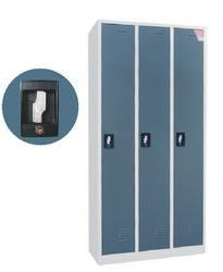 modern design elegant color 3 door steel wardrobe cabinet