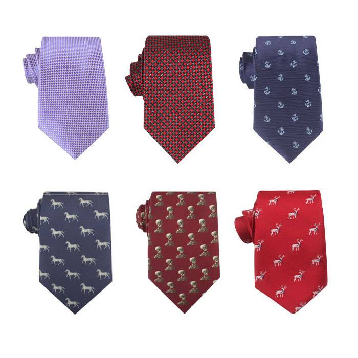 Fashion mens silk wide tie