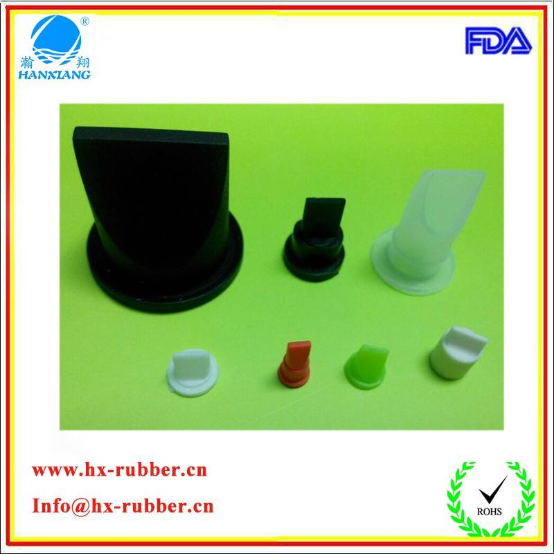 silicone rubber duckbill check valve/one way valve