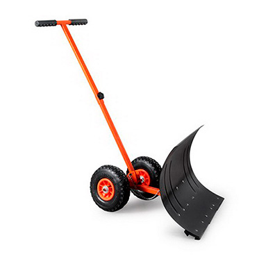 wheeled snow shovel/adjustable push snow shovel