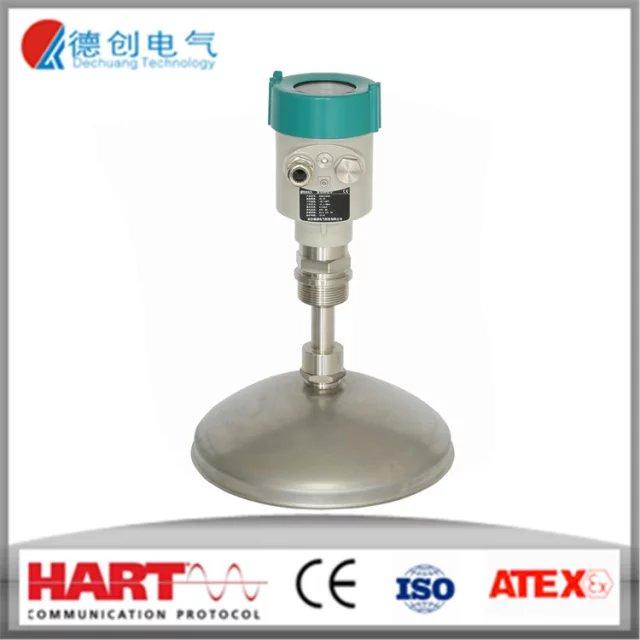 Ground penetratin diaphragm level transmitter for grain silo,4-20mA radar type level transmitter