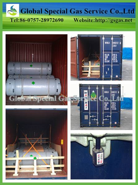 99.9%~99.999% high quality sulfur hexafluoride for circuit breaker