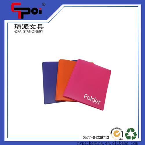 Factory Directly PP Stationery Translucent File Folder A Tadpole Clip