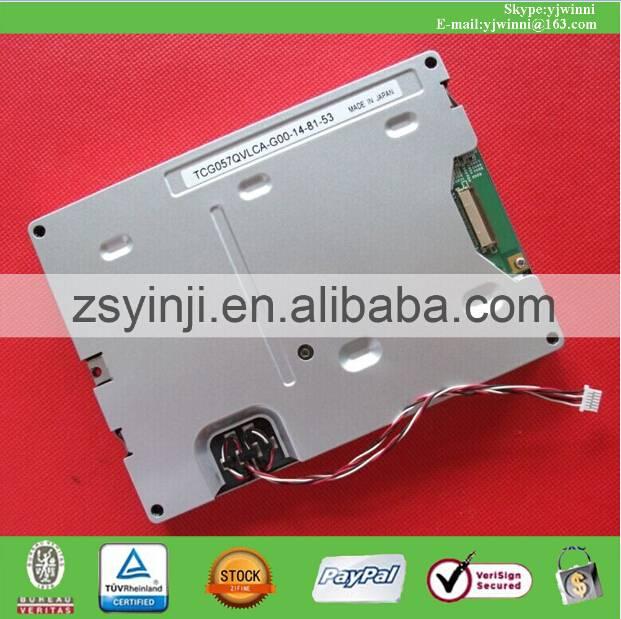 TCG057QV1AC-G00 TCG057QVLCA-G00 Kyocera 5.7INCH TFT LCD MODULE NEW And original
