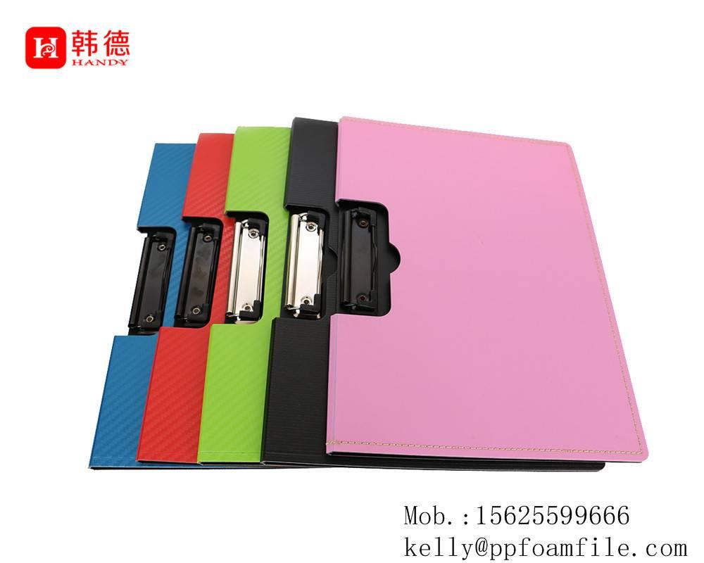 PP foam clipboard file folder