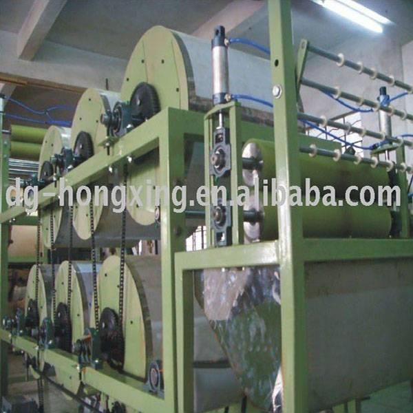 polyester narrow fabric ironing machine