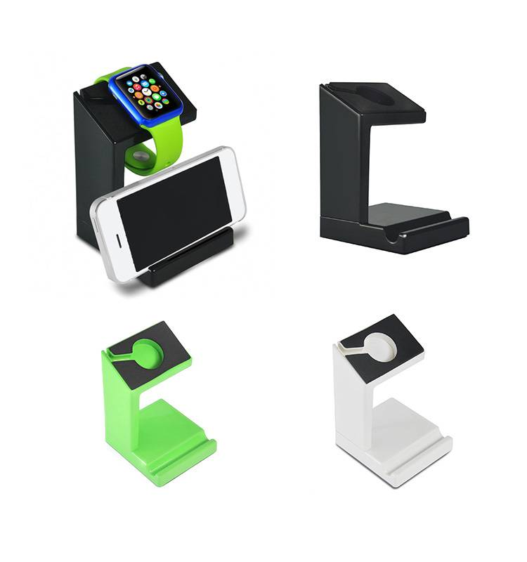 New design low price mobile desktop cell phone holder for watch and iphone