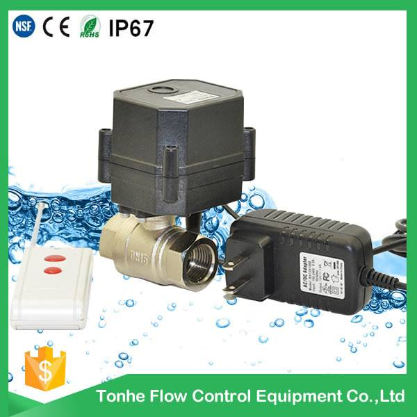 remote controller Power and Ball Structure cwx-15n electric ball stainless steel valve