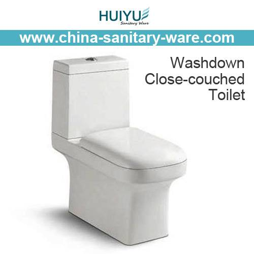 Washdown One Piece Wc Pan Water Closet
