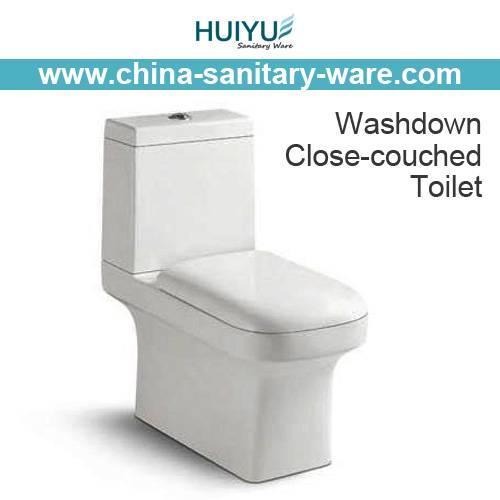 Washdown One Piece Wc Pan Water Closet