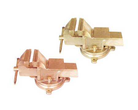 Nonsparking nonmagnetic parallel vice/FM TUV GS/UKAS APPROVED