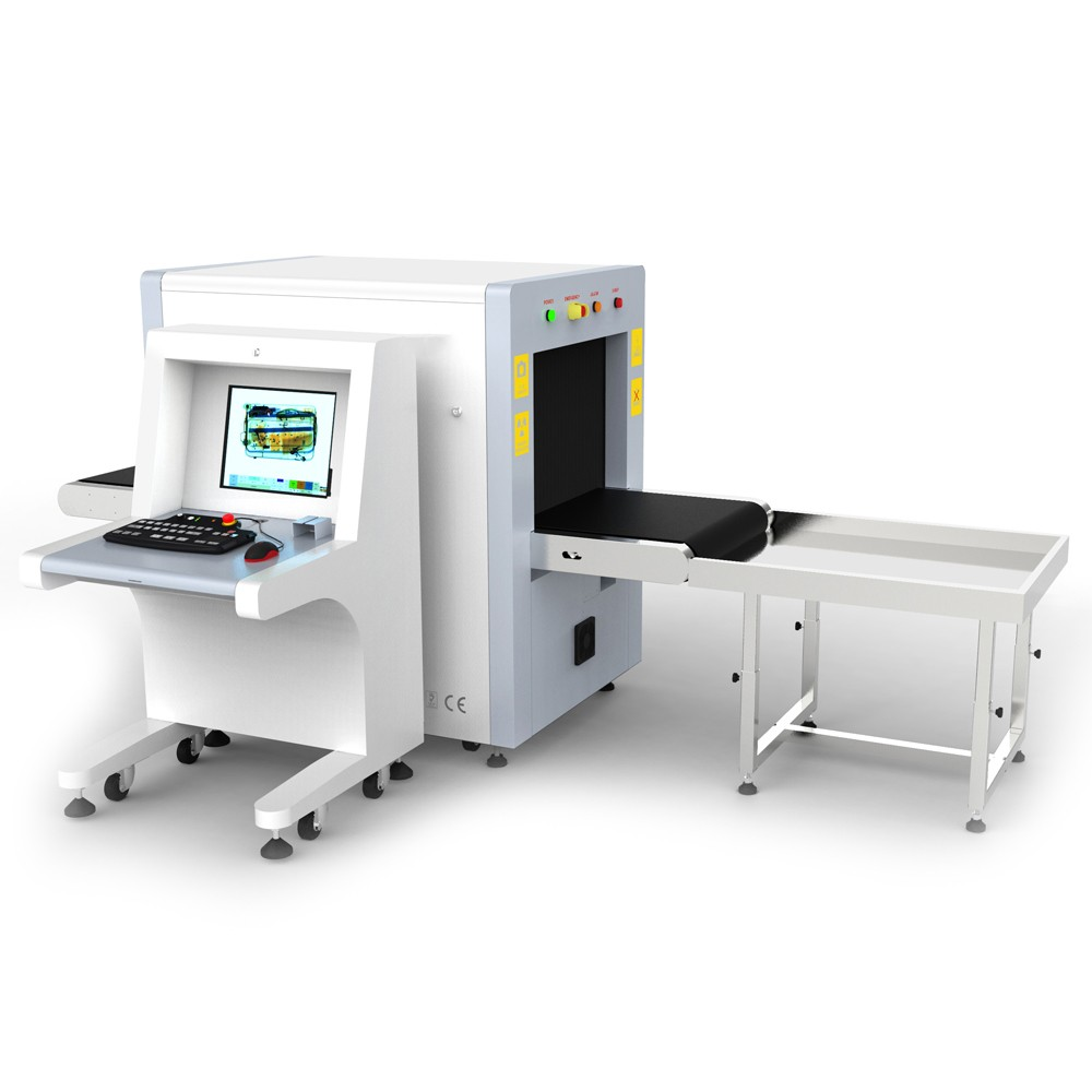 6550C X-ray Cargo Inspection Machine Security Inspection Equipment 6550 X Ray Baggage Scanner