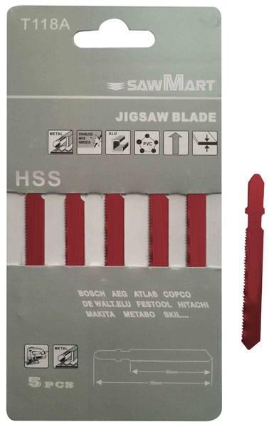 HSS Jig Saw Blade(T-Shank)
