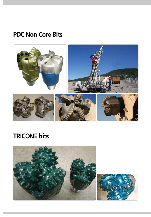 ( Drilling ) PDC Bits & Tricone Bits