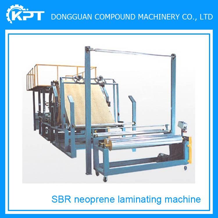 cloth neoprene foam sheet laminating machine price sale