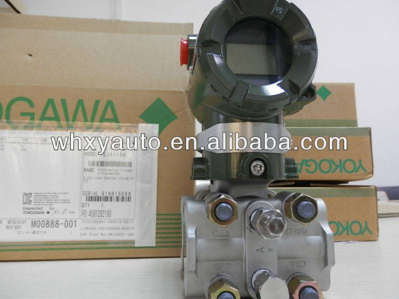 Yokogawa differential pressure transmitter EJA110A with 4-20mA output