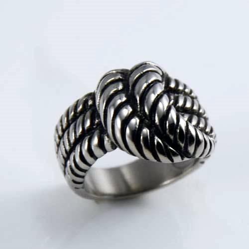 Vintage stainless steel ring