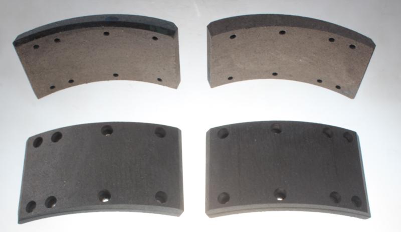 FMSI 4702 brake pad of drum brake for heavy duty truck