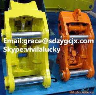 excavator hydraulic bucket quick coupler Log Grapple quick coupler hot sale