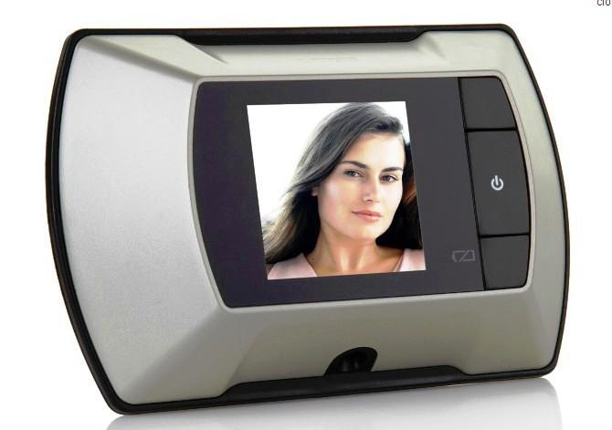 SMART DIY 2.4 inch TFT LCD Door Peephole 100 degree Angle Digital Front doorbell