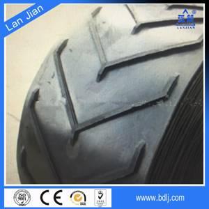 rubber patterned conveyor belts for grain