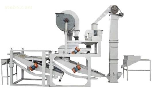 oats peeling machine