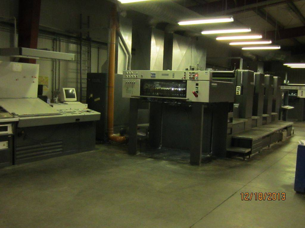 Used HEIDELBERG SM CD 102/4 (1995) sheetfed offset printing press