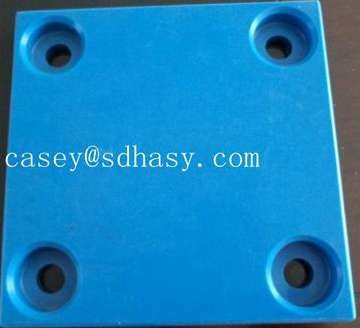 40mm Huao uhmwpe plastic marine fender pad / customized size uhmwpe fender panel