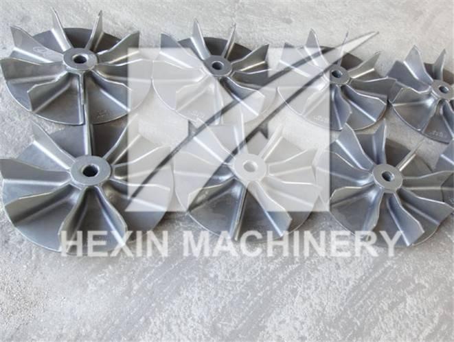 fan wheels for heat treatment furnace