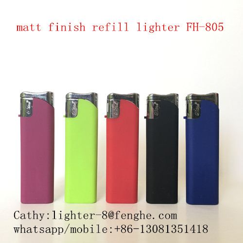 FH-805 USA CPSC lighter ISO9994 electric best quality plastic lighter