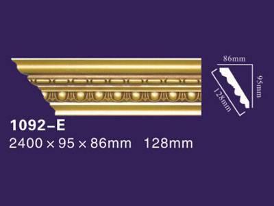 Auuan pu golden moulding houses decoration1092-E