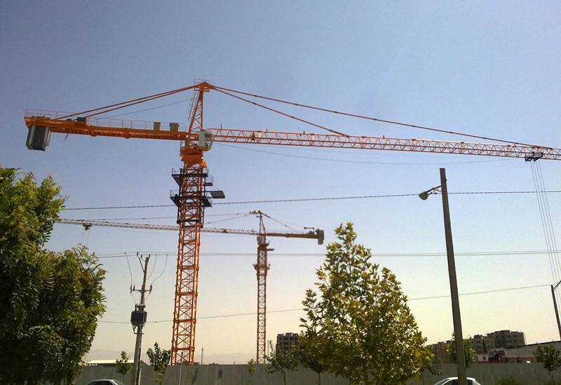 10t tower crane with CE certificate TC6515