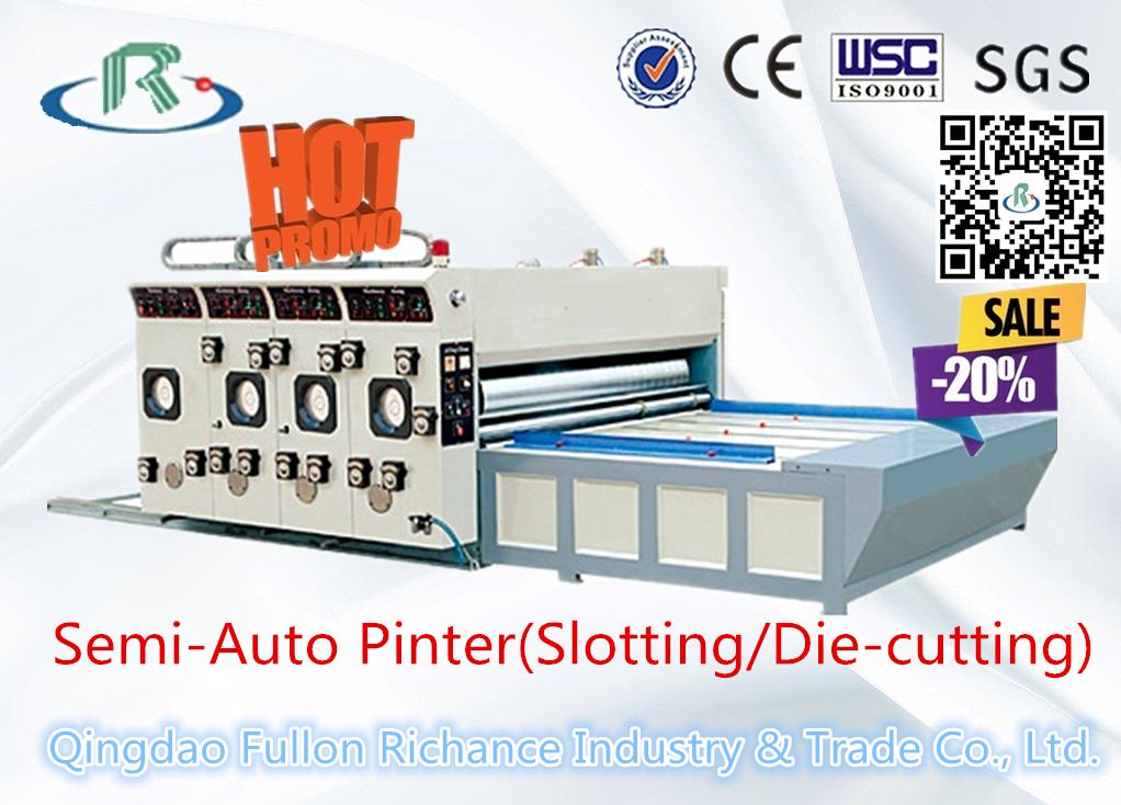 Corrugated Carton Paper Box Printing Slotting Machine