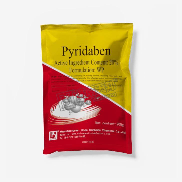 Insecticide Pyridaben 95%tc 20% Wp Cas No.: 96489-71-3