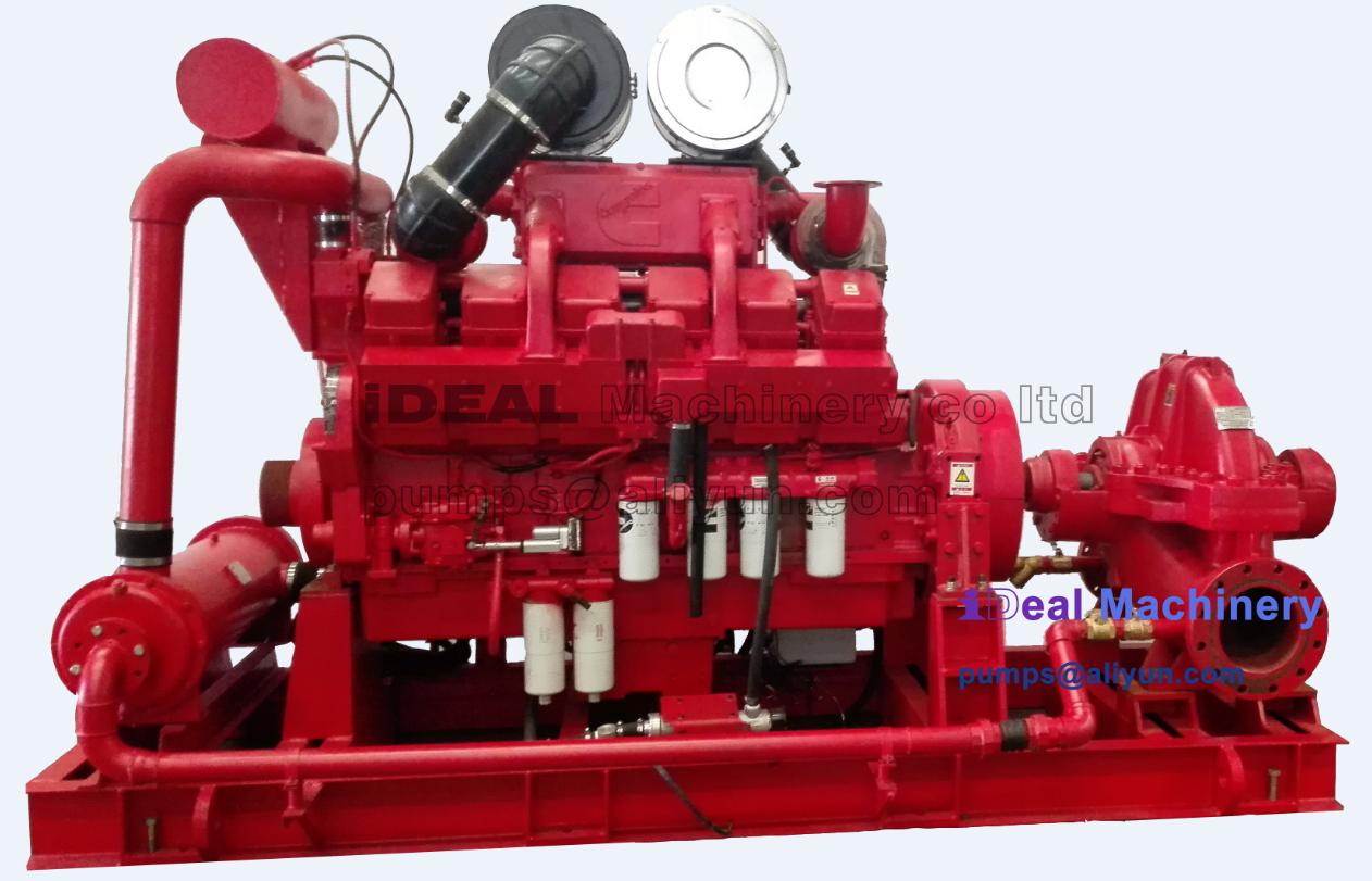 2. IDS Ideal Double Suction Split Casing Pump