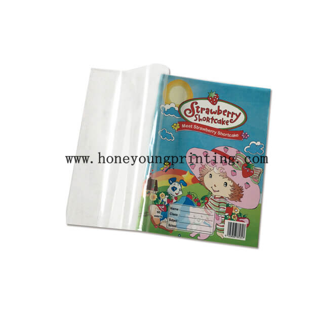 PVC cover single line notebook for Middle east diary