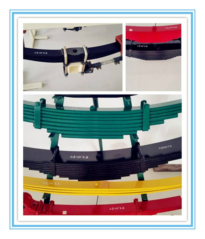 High Quality Steel Parabolic Truck Trailer Leaf Spring