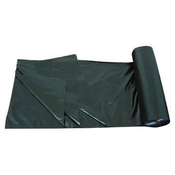 LDPE Black Heavy Duty Star Seal Roll pack Plastic Garbage Bag/Trash bag/Rubbish bag/Refused sack