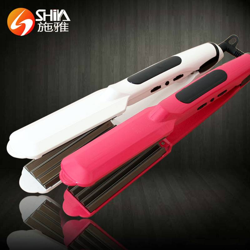 The best hot cloud good quality ceramic wholesale gorgeous hair straightener flat iron with teeth an
